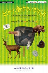 「ヒトと動物の物語 歴史民俗資料に見る武蔵野の動物」