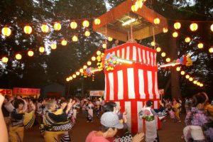 秋津神社の例大祭
