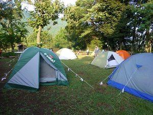 自然を知る 家族でキャンプ体験