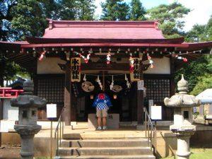 多摩湖町の氷川神社の例大祭