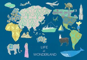 Life is wonderland 矢口 加奈子・松井 清