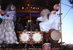 金山神社の例大祭
