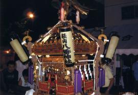 萩山八幡神社の例大祭