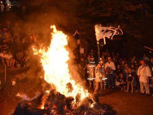 中里の火の花祭観戦ツアー