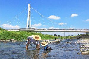 ひの市民大学「あなたの街の非常食 多摩川水系で魚釣り」