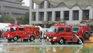 西東京市消防団出初式