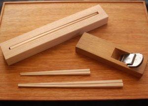 自然体験教室「親子で作るマイ箸作り」