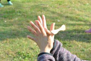みんなで遊ぼう!竹とんぼ&ジュズダマお手玉