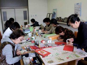 絵手紙教室「果物や野菜を描く」