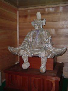 東京文化財ウィーク2020「木造随身倚像」特別公開