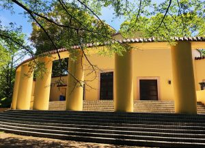 旧多摩聖蹟記念館の自然観察会