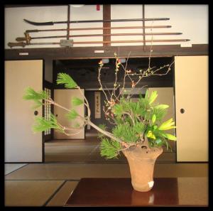 旧富澤家特別展「第五回 古代の器といけ花」