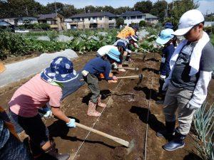 農業ふれあい公園 キッズ野菜栽培体験教室